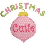 Christmas Cutie Applique