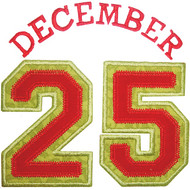 December 25 Applique