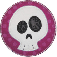 Skull Patch Applique