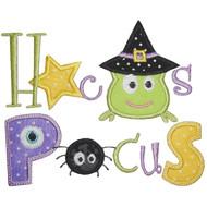 Hocus Pocus Applique