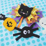 Halloween Hair Felties