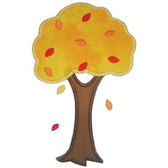 Fall Tree Applique