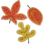 3 Leaves Applique
