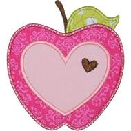 Valentine Apple Applique