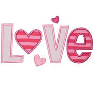 Heart Love Applique