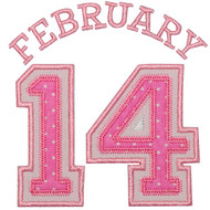 February 14 Applique