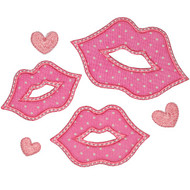 Smooches Applique
