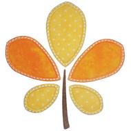 Pieced Leaf Applique