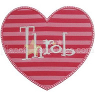 Heart Throb Applique