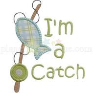 Im a Catch Applique