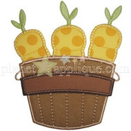 Carrot Crate Applique
