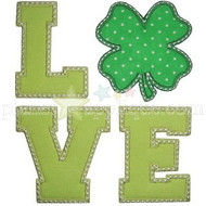 Shamrock Love Applique