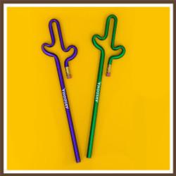Cactus Pencil AZ Multi Color - New Minimum Quantity