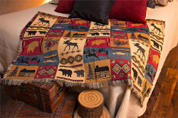 Rustic Lodge Throw
