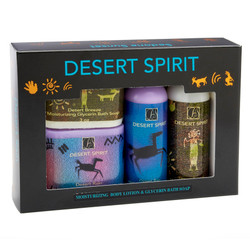 Desert Spirit Moisturizing Lotion and Soap Gift Pack