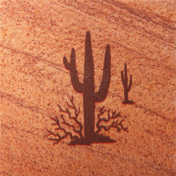 Saguaro Coasters - Set of 4