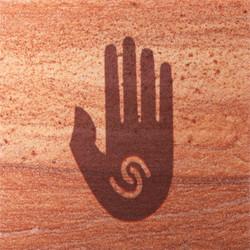 Healing Hand Coasters - Set of 4
