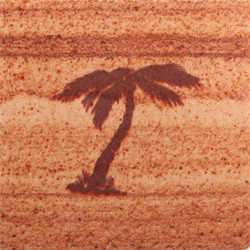 Palm Tree Coasters - Set of 4