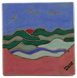 "Mara Tile 8""X8"" - Mountain"