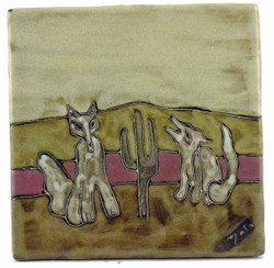 "Mara Tile 8""X8"" - Coyote"