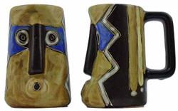 Mara Sculpted Stein 15oz - Blue Mask