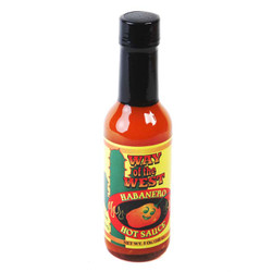 Habanero Pepper Hot Sauce 5oz-Case of 12