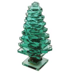 "Glass Pine Tree - 7"""