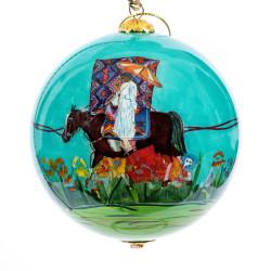 "Sunday Ride - 4"" Ornament Set of 2"