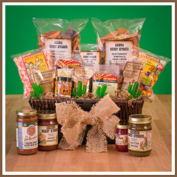 extra large southwest gift basket for the office