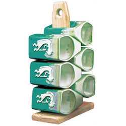 Mug Tree - 12oz Matte Green - Kokopelli
