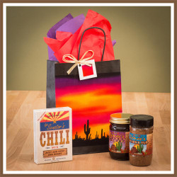 gourmet arizona chef recipes in gift bag