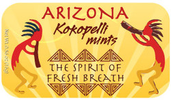 Arizona Kokopelli Mints - Case of 48