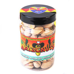 Plain Pistachios (shell) 4oz-Case of 12
