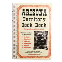 Arizona Territory Cookbook - NEW MINIMUM QUANTITY