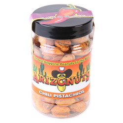 Chili Pistachios (shell) 4oz-Case of 12