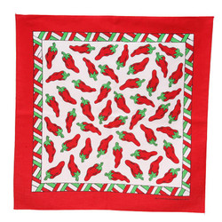 Large Bandana - Chili Pepper