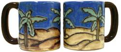 Mara Mug 16oz - Desert Palms