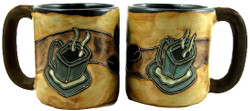 Mara Mug 16oz - Coffee Beans and Mug