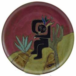 """Mara Platter 12"""" - Kokopelli"""