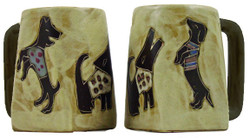 Mara Square Mug 12oz - Dogs