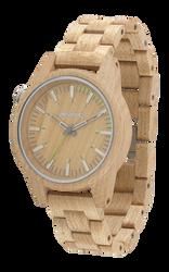 PAAR 46 Beige Wood Watch
