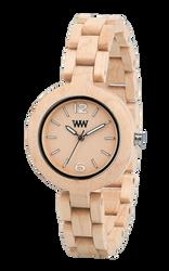 Mimosa Beige Wood Watch