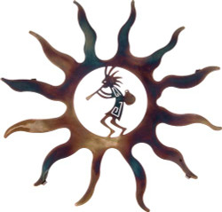 Kokopelli with Pot Sun