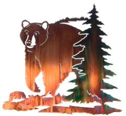 Bear with Pine Tree