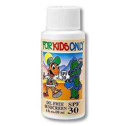 Kids Sunscreen, SPF30 - 1oz