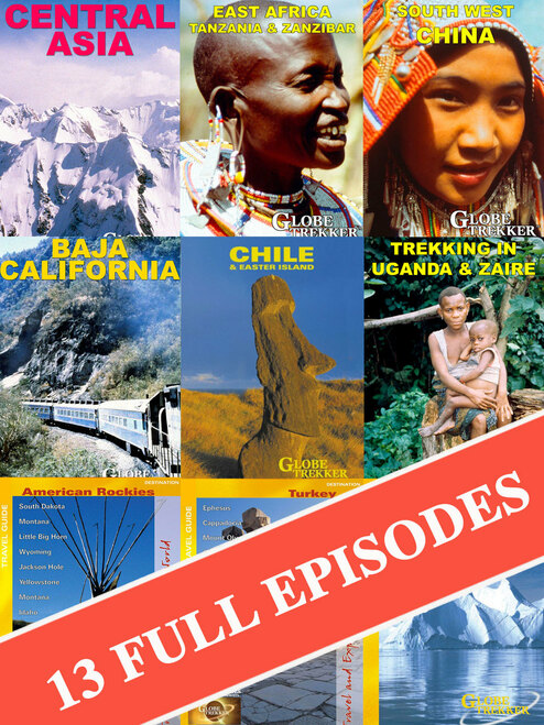 Globe Trekker Season 2 - 13 Full Episodes