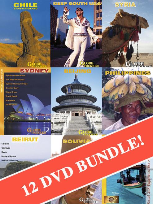 Globe Trekker 25th Anniversary DVD Bundle