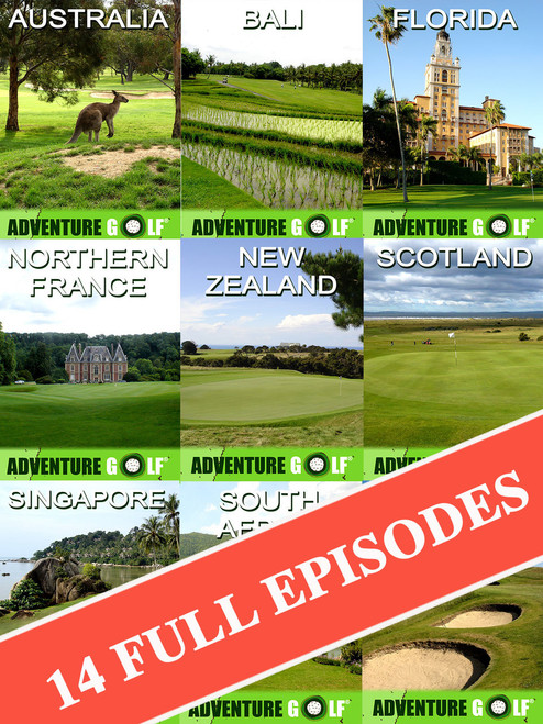 Adventure Golf World Bundle (14 Episode Digital Download Bundle!)