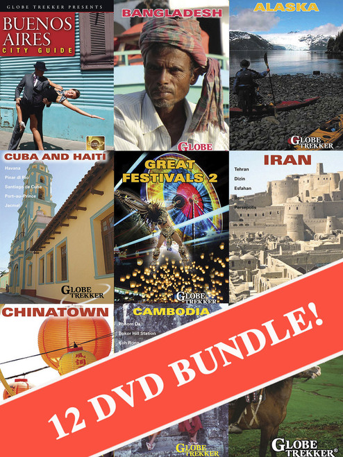 Globe Trekker 25th Anniversary Bonanza Bundle (12 DVDs!)