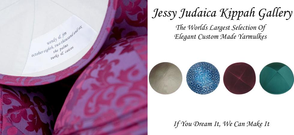 The Finest Kippah and Ketubah Shop Since 1996   Jessy Judaica. Kippahs For Wedding. Home Design Ideas